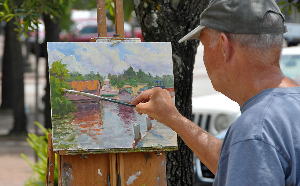 Plein Air 900. Paint the Block. June 6th from 10 am – 5 pm.