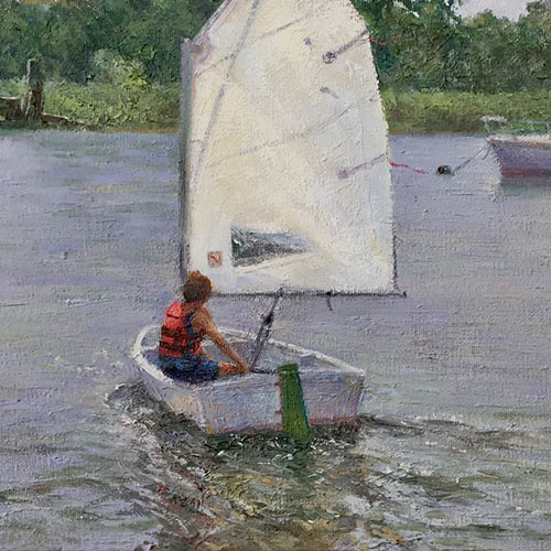 The Sailing Lesson - Danny McLaughlin