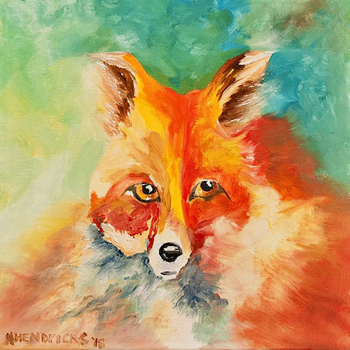 Mr. P.I. Fox - Niki Hendricks