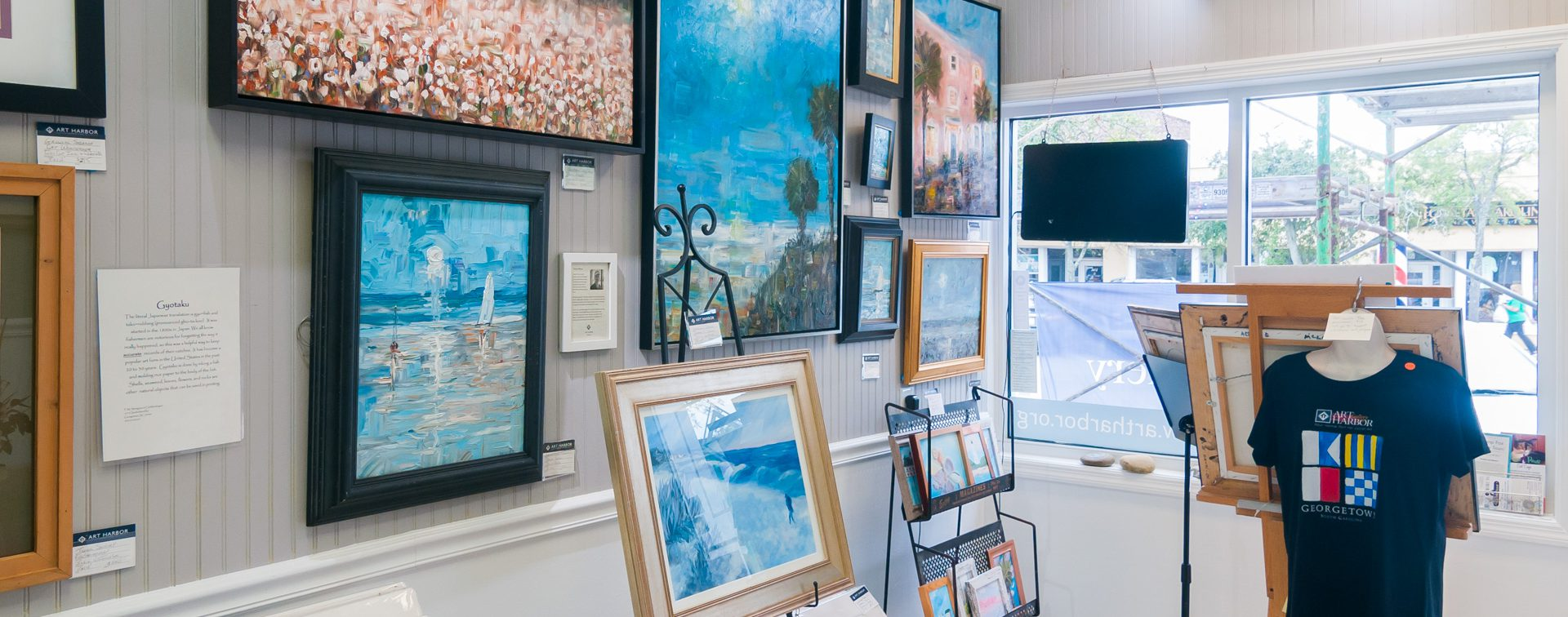 Art Harbor Gallery Interior