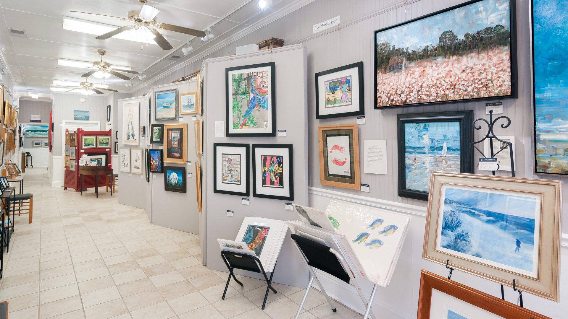 Art Harbor Gallery Interior